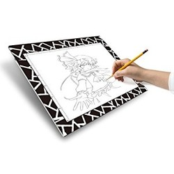 The Unique Litup Mini L9.8 Inch×W7.64 Inch (A5) LED Animation Drawing Light Box Light Pad