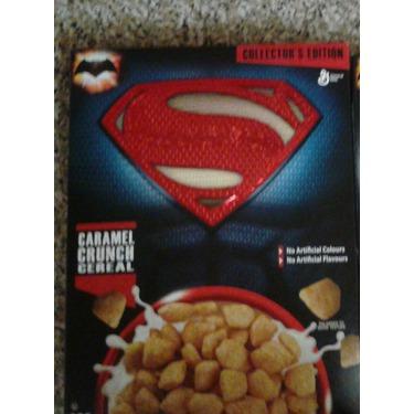 General Mills Superman Caramel Crunch Cereal
