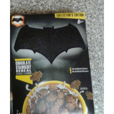 General Mills Batman Chocolate Strawberry Cereal