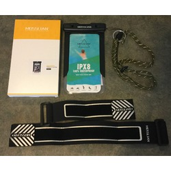 MOSSLIAN Universal Waterproof Case Bag with Armband