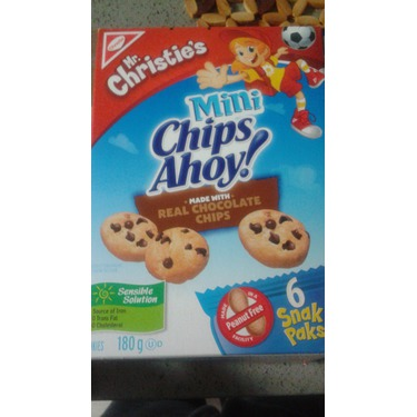 Mini Chips Ahoy chocolate chips