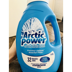 Arctic Power Laundry Detergent