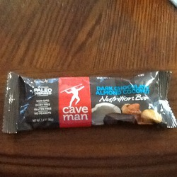 Cave Man Dark Chocolate Almond Nutrition Bar