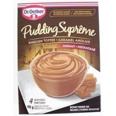 Dr. Oetker English Toffee Pudding