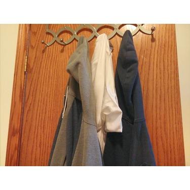IPOW Foldable Over The Door Storage Organizer Rack Hanger