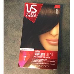 "Vidal Sassoon pro series ultra vibrant color ""dark brown"""