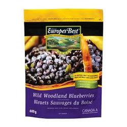 Europe's Best Frozen Wild Woodland Blueberries