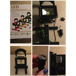 Stoog Outdoor Floodlight Camping Lights Portable LED Work Light