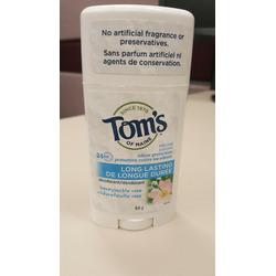 Tom's of Maine deodorant honeysuckle rose