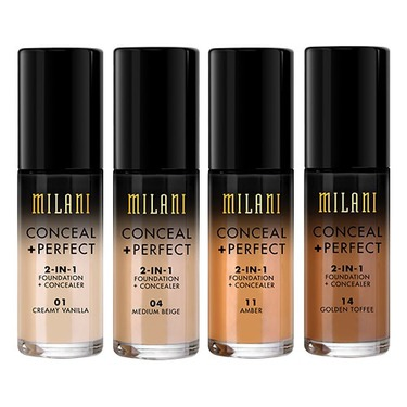 milani conceal + perfect 2 in 1 foundation and concealer