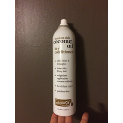 Oilology coconut oil dry conditioner