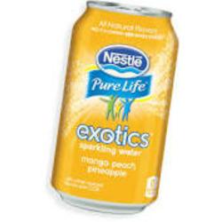 nestle pure life sparkling mango peach pineapple