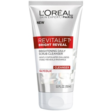 L'Oreal Bright Reveal Brightening Daily Scrub Cleanser