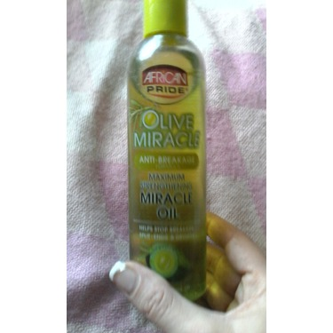 Afican Pride Olive Miracle Oil anti- breakage