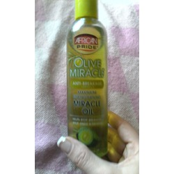 Afican Pride Olive Miracle Oil anti- breakage
