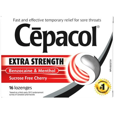 Cepacol extra strength throat lozenges