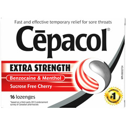 Cepacol extra strength throat lozenges