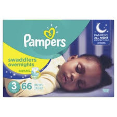 Pamper Swaddlers Overnight