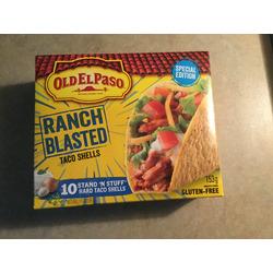Old El Paso ranch blasted taco shells