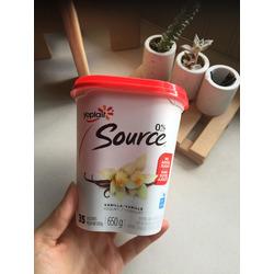Yoplait source vanilla yogurt