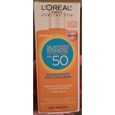 L'oreal silky sheer bb cream