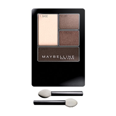 Maybelline Expert Wear Eye Shadow Quad in Charcoal Smokes