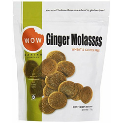 Wow Gluten Free Ginger Molasses Cookies