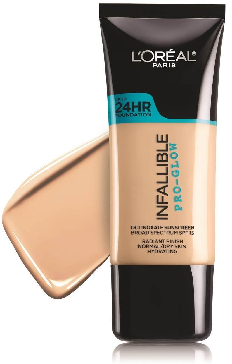 Pro Foundation Mixers By Nyx Professional Makeup: L'Oréal Paris Infallible Pro-Glow Foundation Reviews In