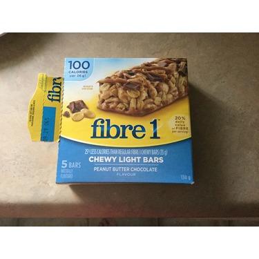 Fiber 1 chewy light bars peanut butter chocolate