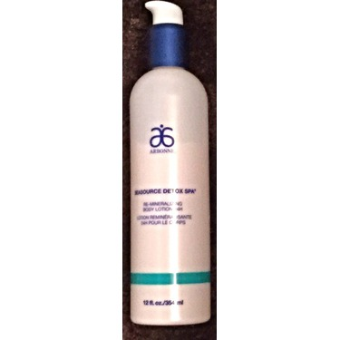 Arbonne Seasource Detox Spa Re-mineralizing Body Lotion