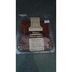 The bakery raisin bran muffins