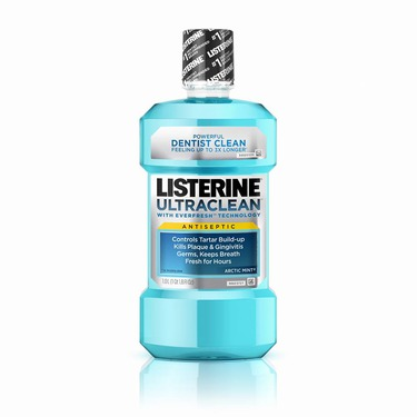 Listerine Ultraclean Antiseptic mouth wash in everfresh