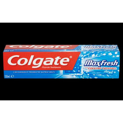 Colgate Max Fresh cooling crystal toothpaste