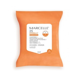 Marcelle Hydra-C Cleansing + Exfoliating Cloths
