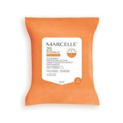 Marcelle lingettes nettoyantes exfoliantes