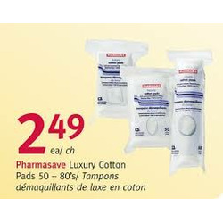 Pharmasave Luxury Cotton Pads