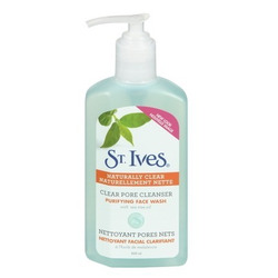 St.Ives Naturally Clear Facial Cleanser