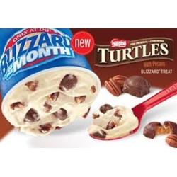 Turtle Pecan Cluster Blizzard® Treat