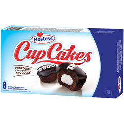 Hostess Rich Chocolate Cupcakes