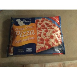 Pillsbury crispy crust pizza pepperoni