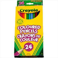 Crayola 24 Count Pencil Crayons