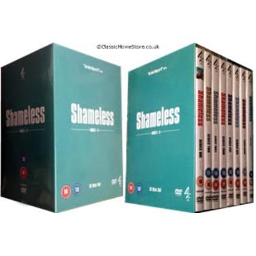 Shameless UK complete series set
