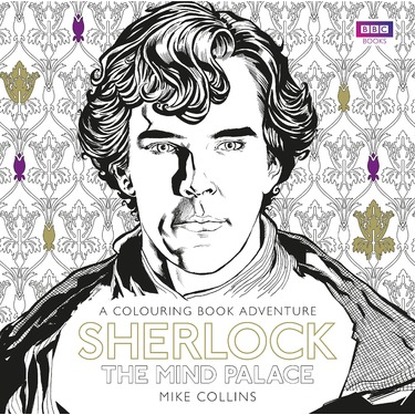 Sherlock: The Mind Palace official colouring book