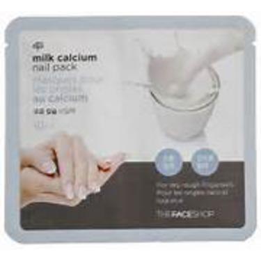 the face shop milk calcium nail pack