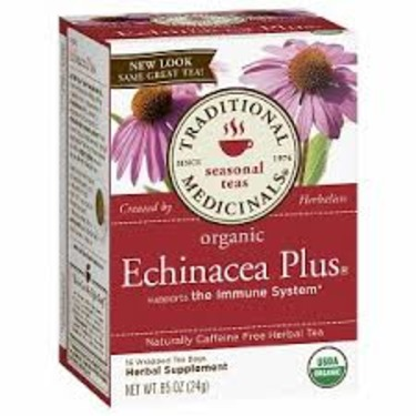Herbal Medicinals Echinacea Plus Tea