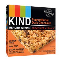 KIND Healthy Grains Peanut Butter and Dark Chocolate Granola Bars