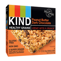 KIND Healthy Grains Peanut Butter and Dark Chocolate Granola Bars