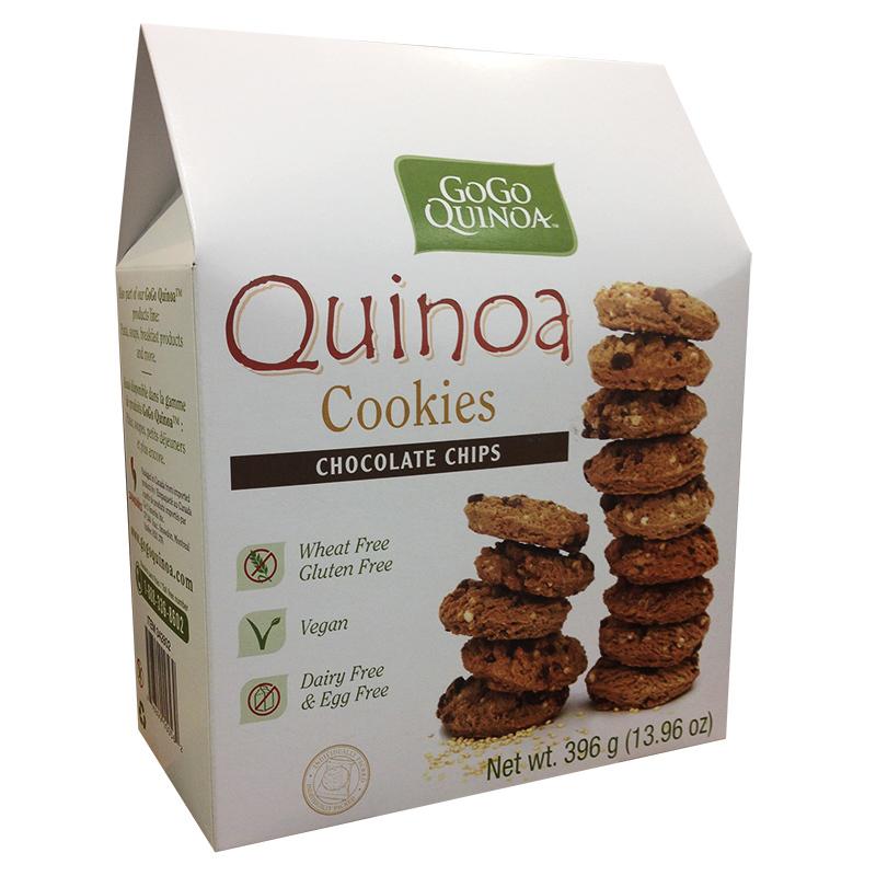GoGo Quinoa Chocolate Chip Cookies reviews in Gluten-free