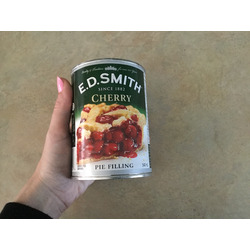 E.D smith cherry pie filling