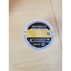 Van Houtte Vanilla Hazelnut K cup pods